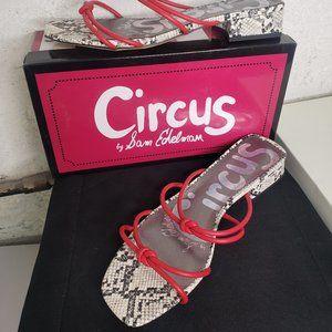 NIB!!! Circus by Sam Edelman Jay Red Sandal